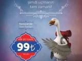 Türk Hava Yolları (THY) Ramazan'da tüm iç hat yolcularını her şey dahil 99 TL'ye uçuracak.